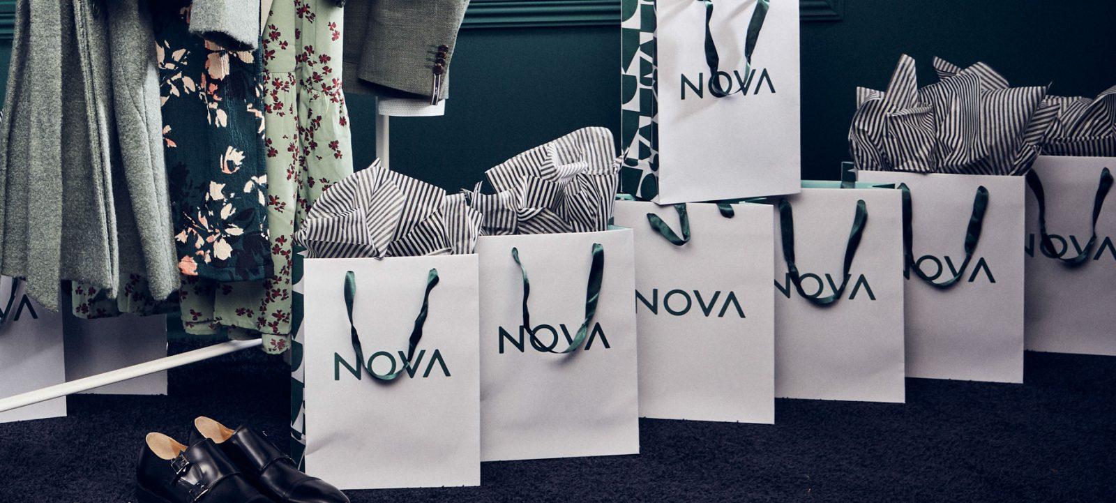 Flera nova presentpåse