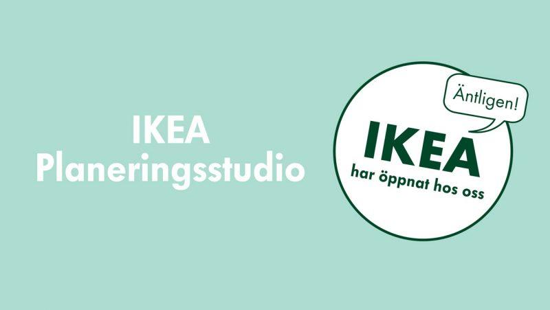 IKEA Planeringsstudio har öppnat på Nova